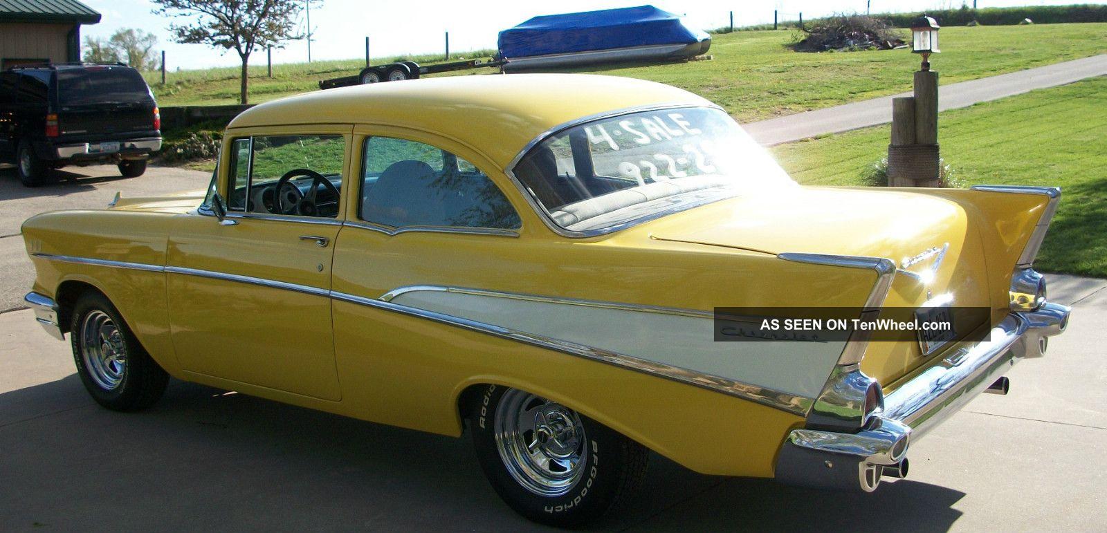 1957 chevrolet 210 2 door post chevrolet hot rod for 1957 chevy 210 2 door