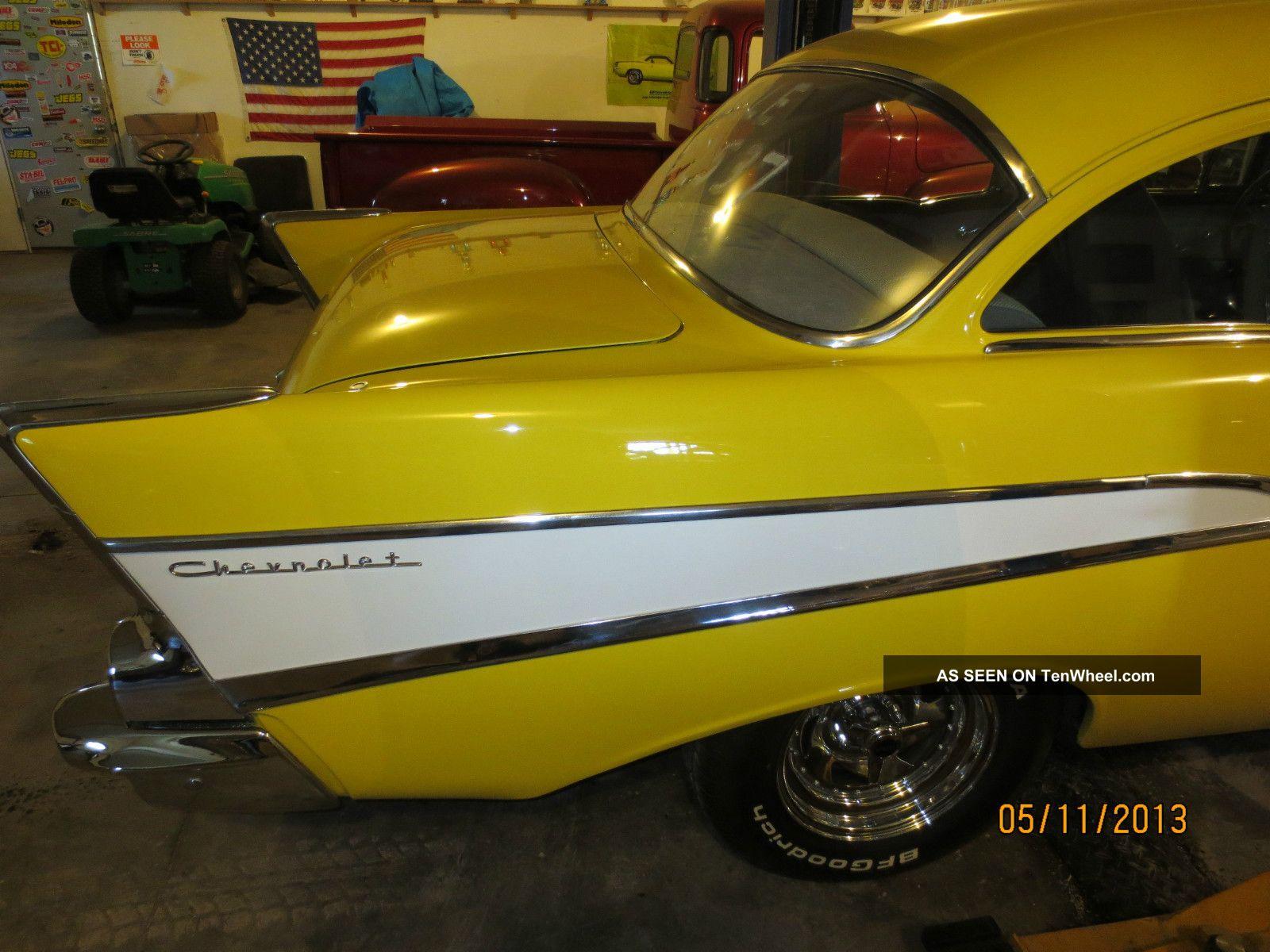 1957 Chevrolet 210 2 Door Post Hot Rod Bel Air 150