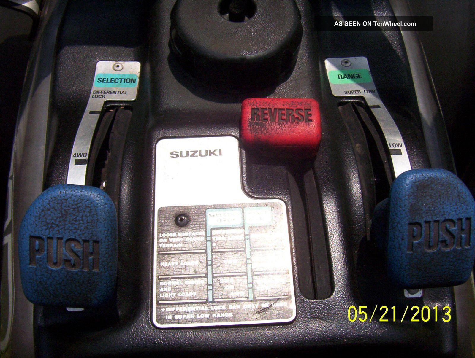 250 Suzuki Quadrunner