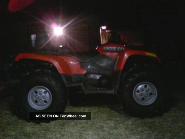 2007 Arctic Cat Hi Trv Arctic Cat photo