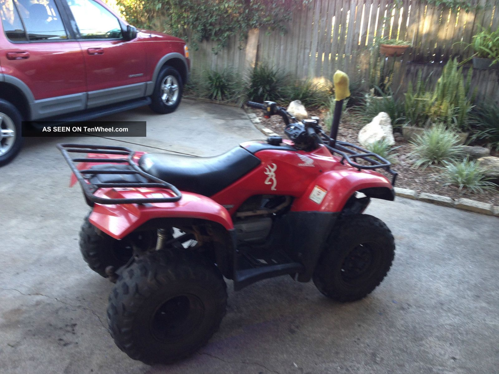 sold new ve full window item size recon honda march auction atv in