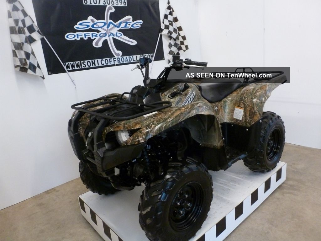Retail Value Of A  Yamaha Grizzly  Fi