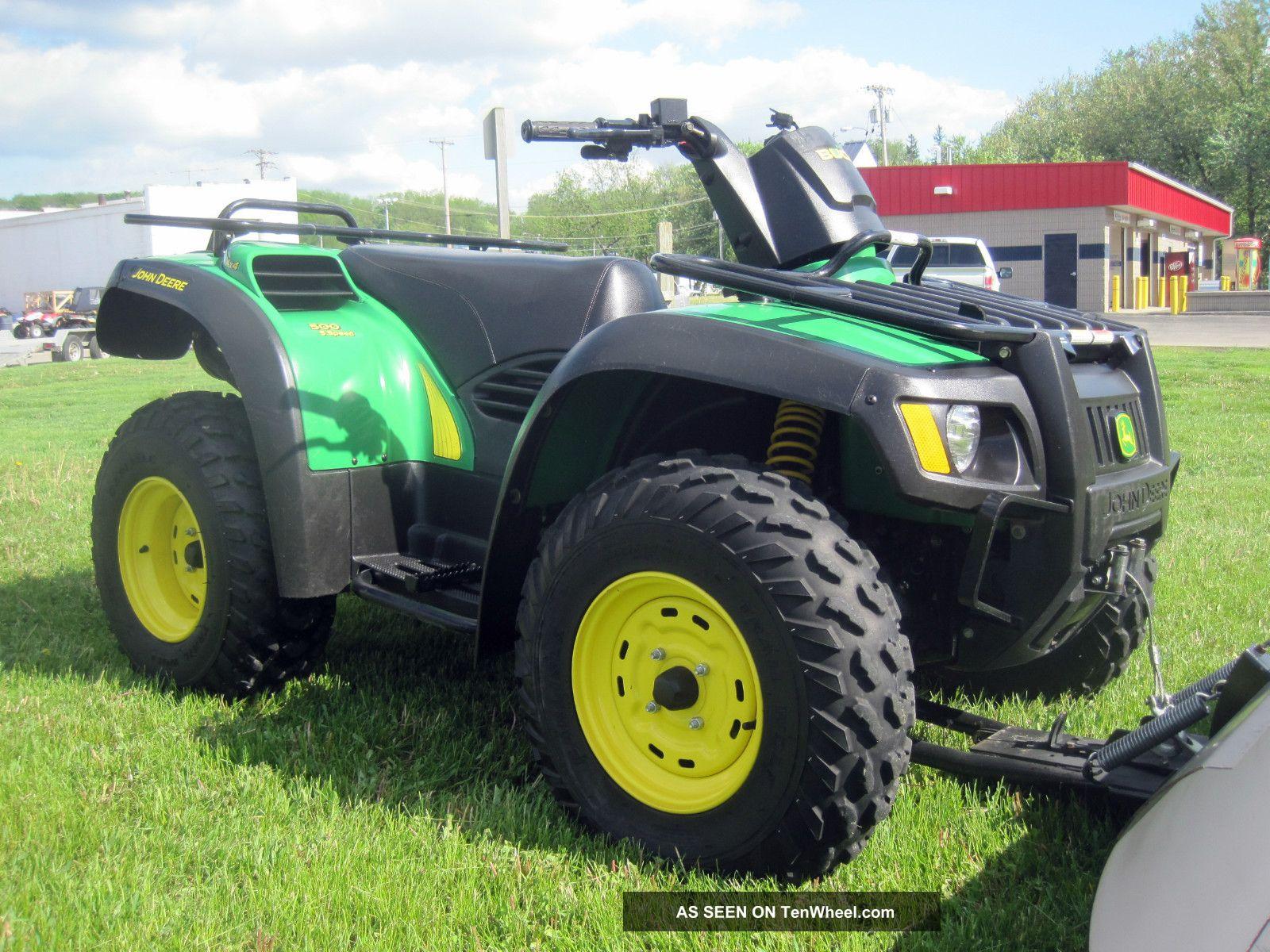 2005 Yamaha Rhino 660 Specs >> 2005 John Deere Buck 500