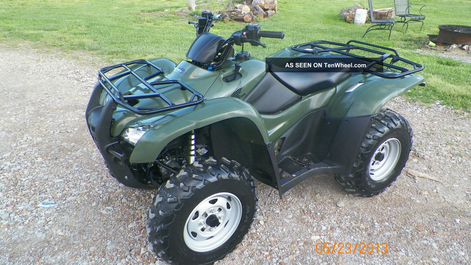 2011 Honda Rancher At Irs