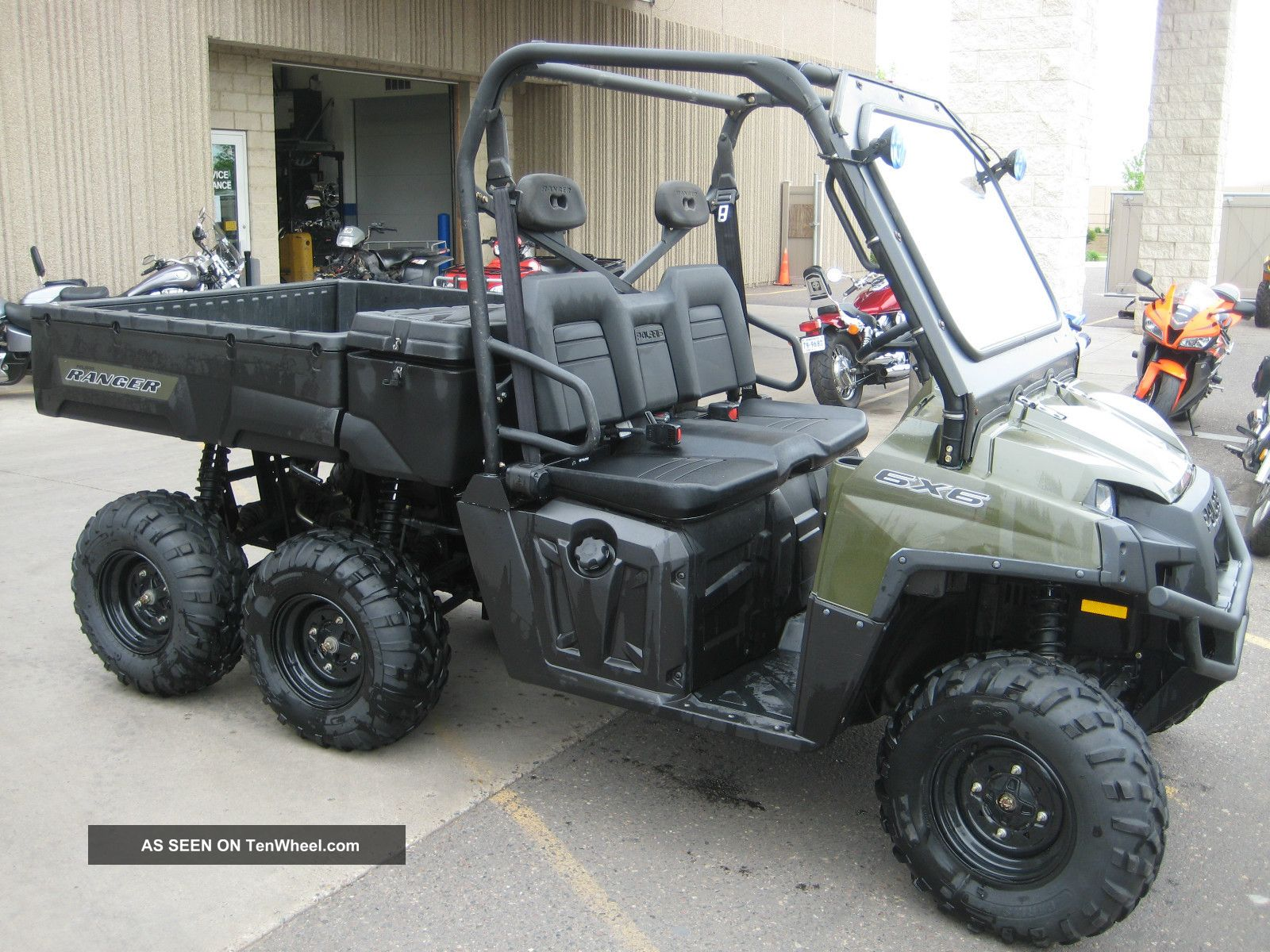 2010 Polaris Ranger 800 6x6 UTVs photo