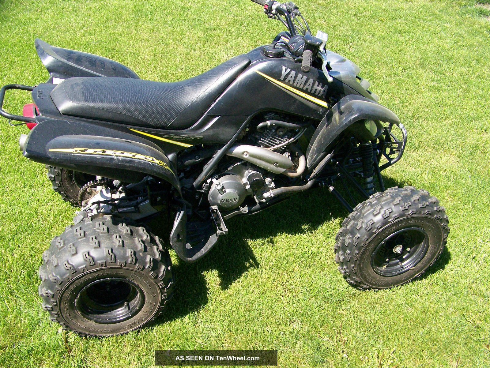 2004 yamaha raptor 660 limited edition