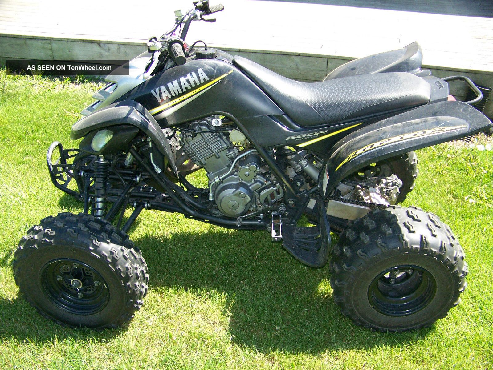 Yamaha Raptor  Limited Edition Specs