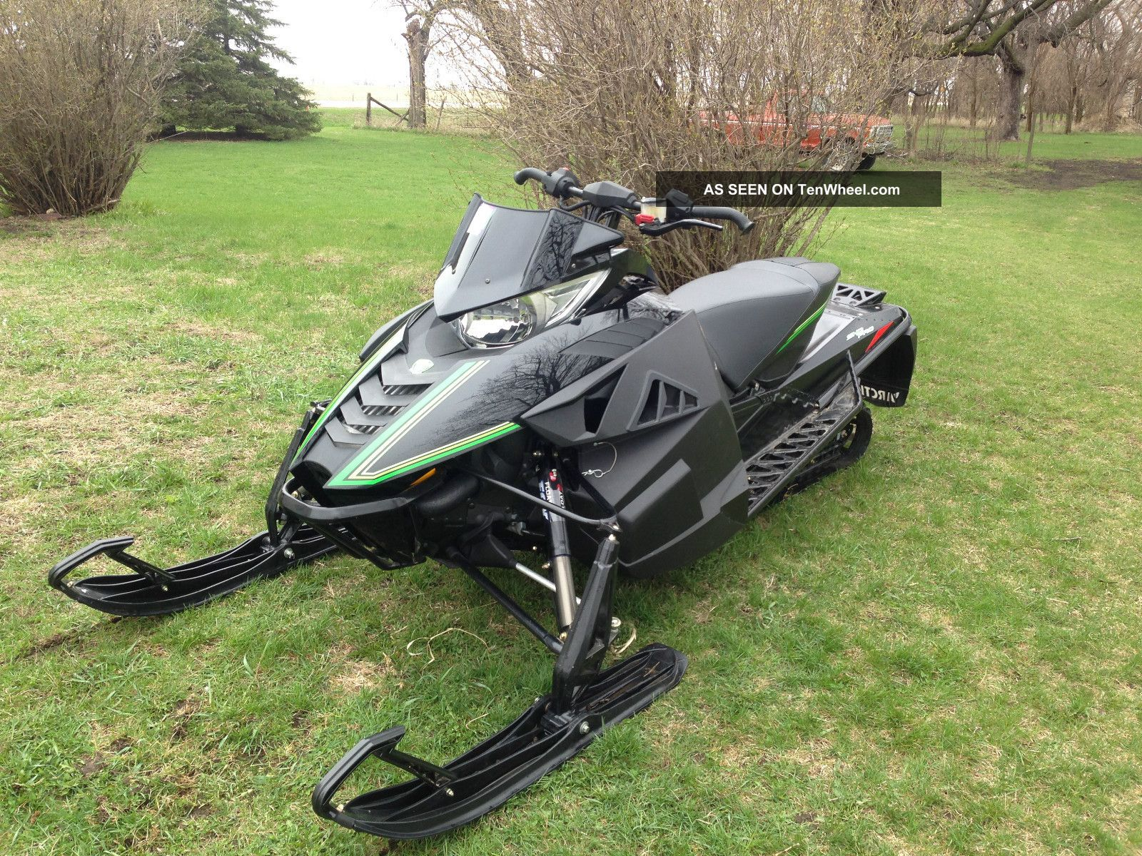 2012 Arctic Cat F1100 Turbo Procross Sno Pro Arctic Cat photo