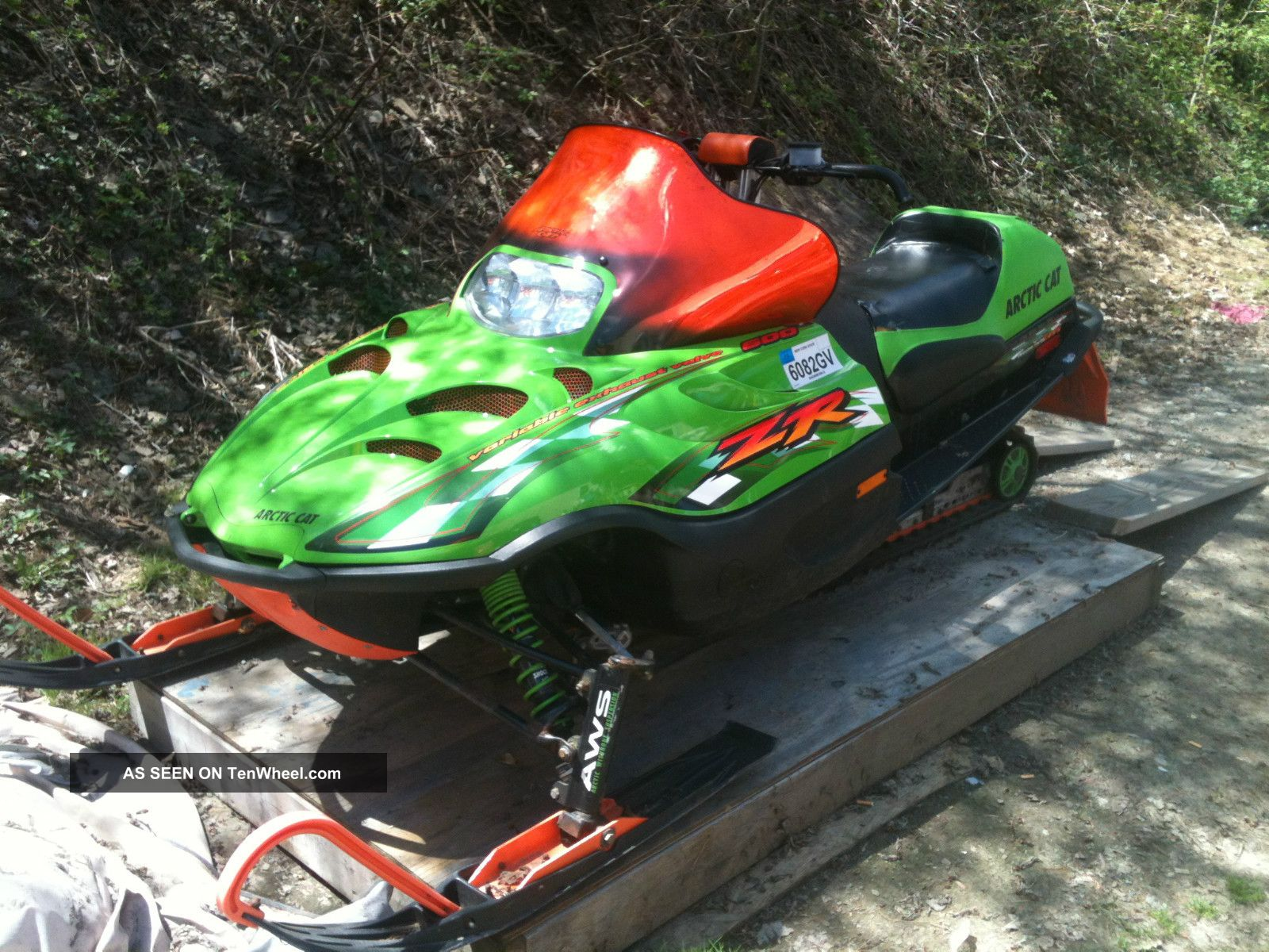 2001 Arctic Cat Zr 600 Efi Arctic Cat photo