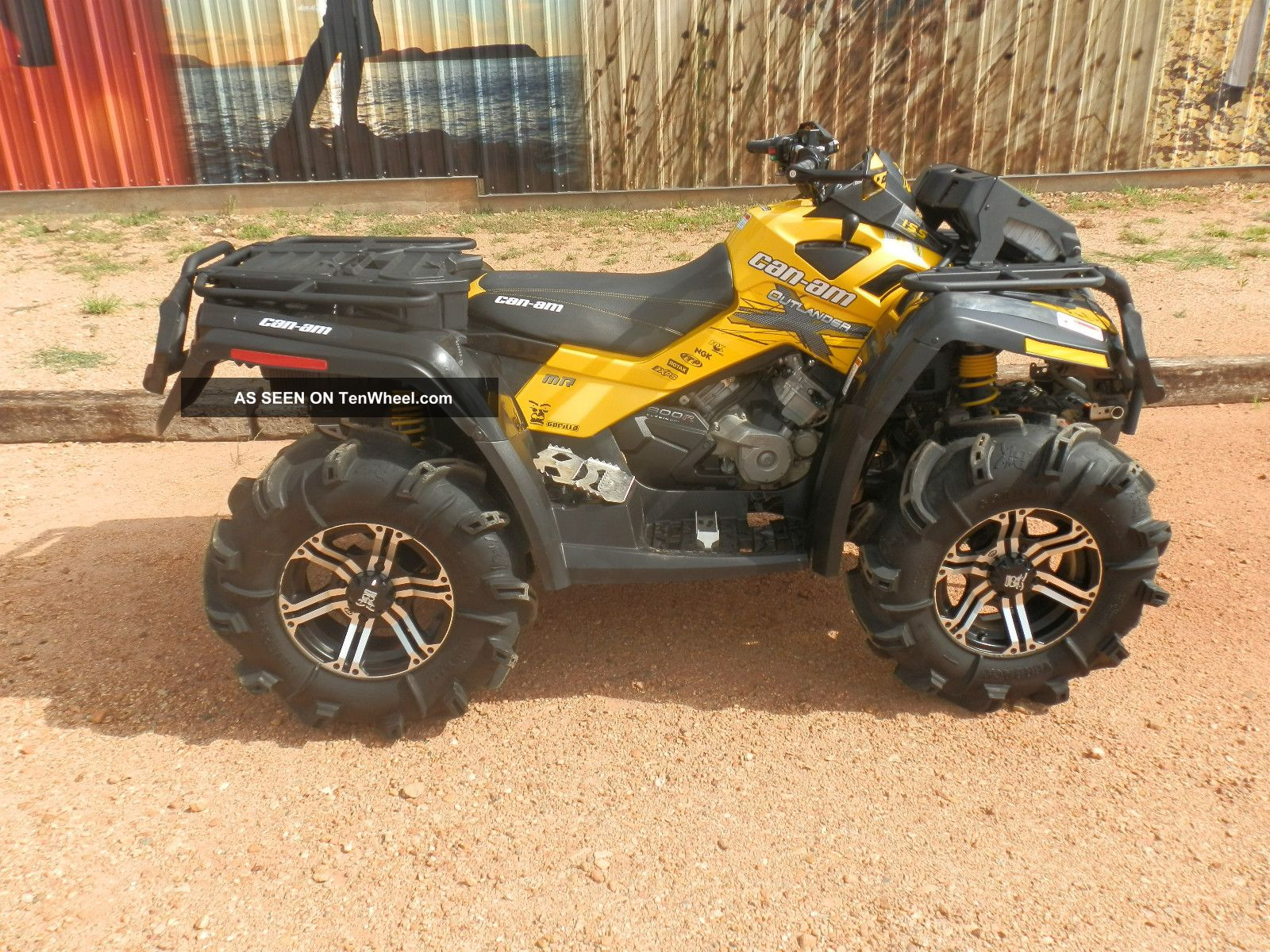 2012 Can - Am Outlander 800r Mr Other Makes photo