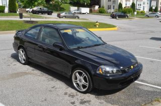 1998 Honda Civic Ex Coupe 2 - Door 1.  6l photo