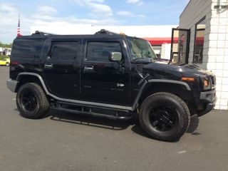 2003 Hummer H2 Base Sport Utility 4 - Door 6.  0l photo