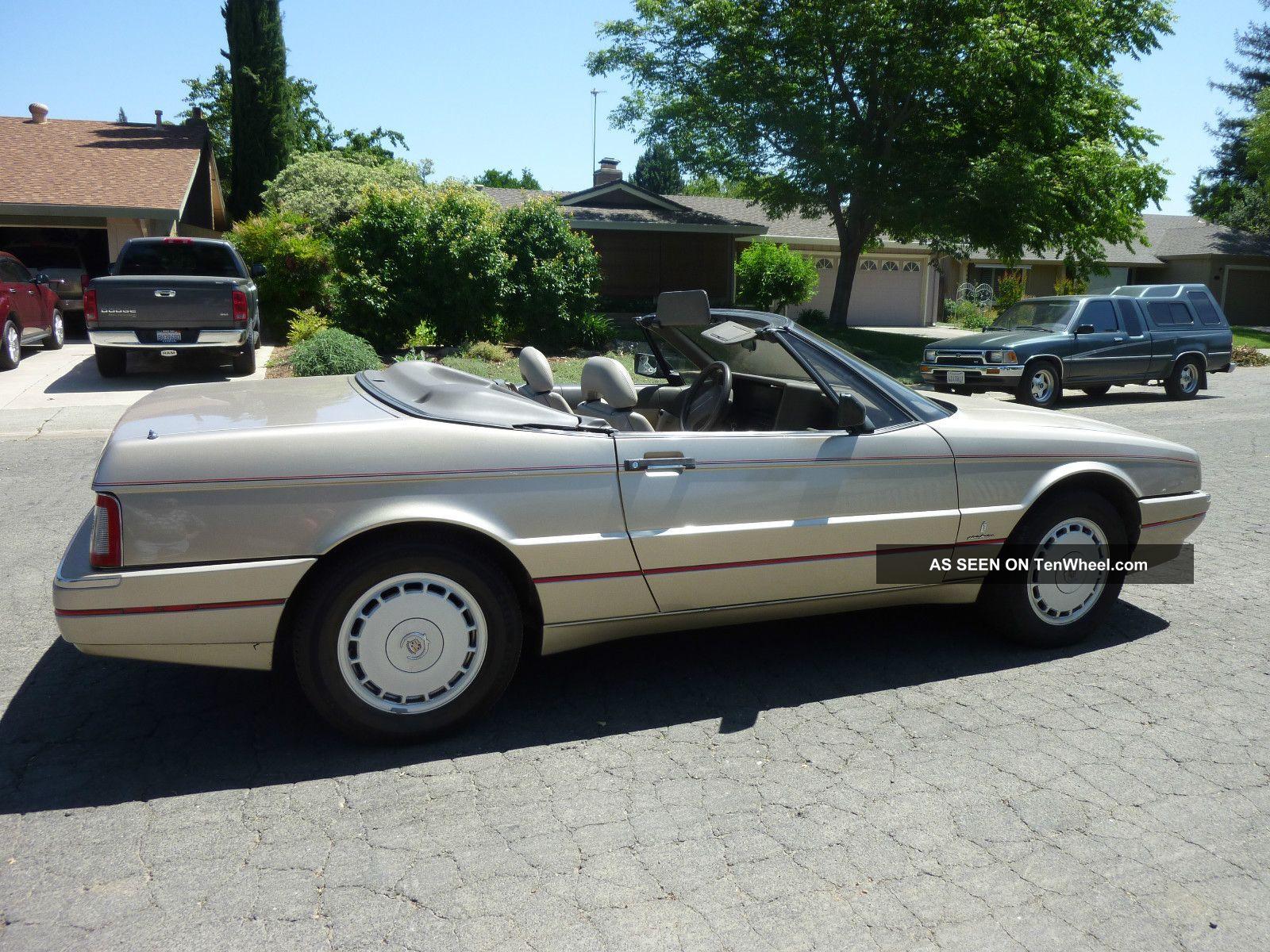 Cadillac Allante 50 Images New Hd Car Wallpaper 1990 Fuse Box Value Leader Convertible 2 Door 4 5l