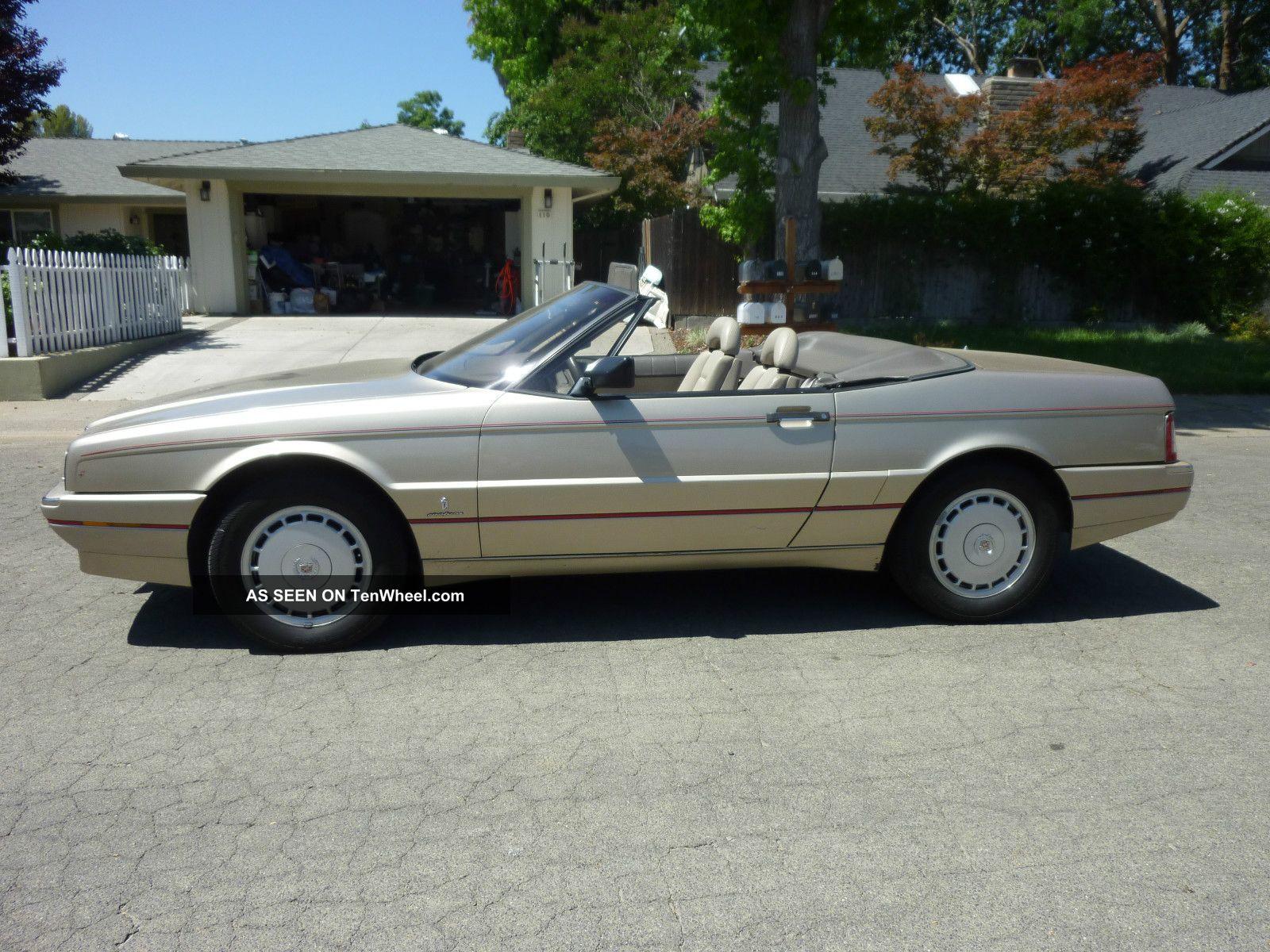 1990 Cadillac Allante Value Leader Convertible 2 - Door 4. 5l
