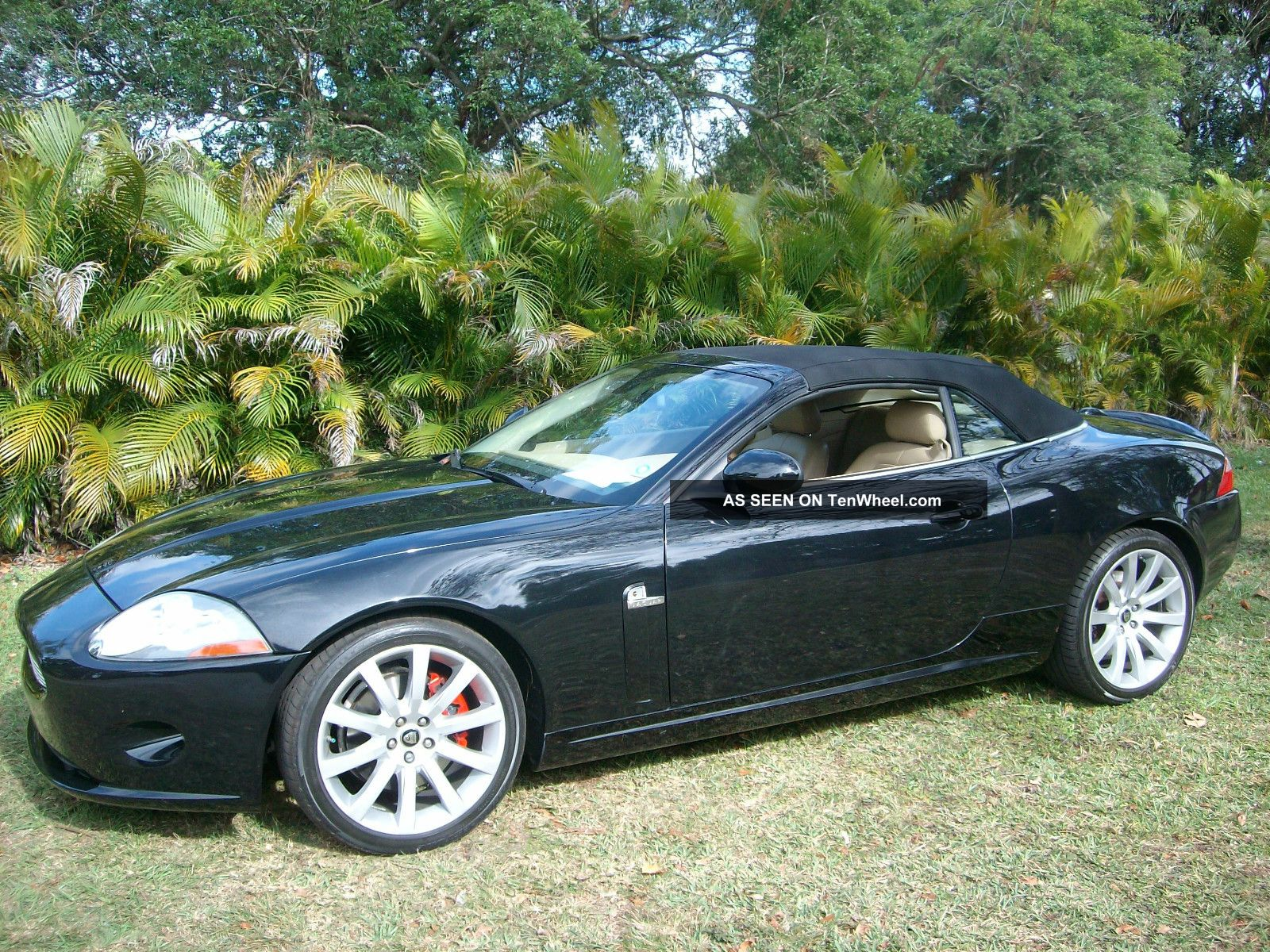 2007 jaguar xk base convertible 2 door 4 2l. Black Bedroom Furniture Sets. Home Design Ideas