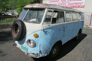 1963 Vw Volkswagen Split Window Bus photo