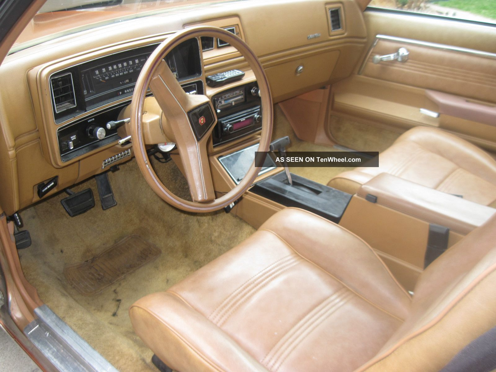 2012 Chevy Malibu Interior