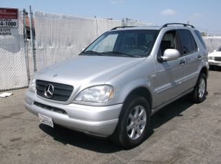 1999 Mercedes Ml430, photo
