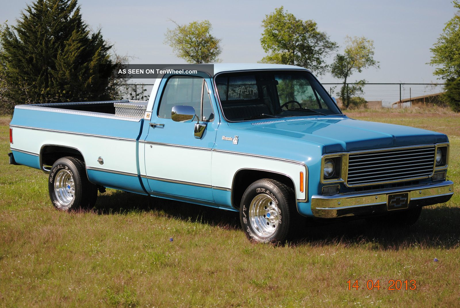 1978 Chevy Truck >> 1978 Chevy Silverado Long Wide Bed V8 Pickup Rust Texas Truck