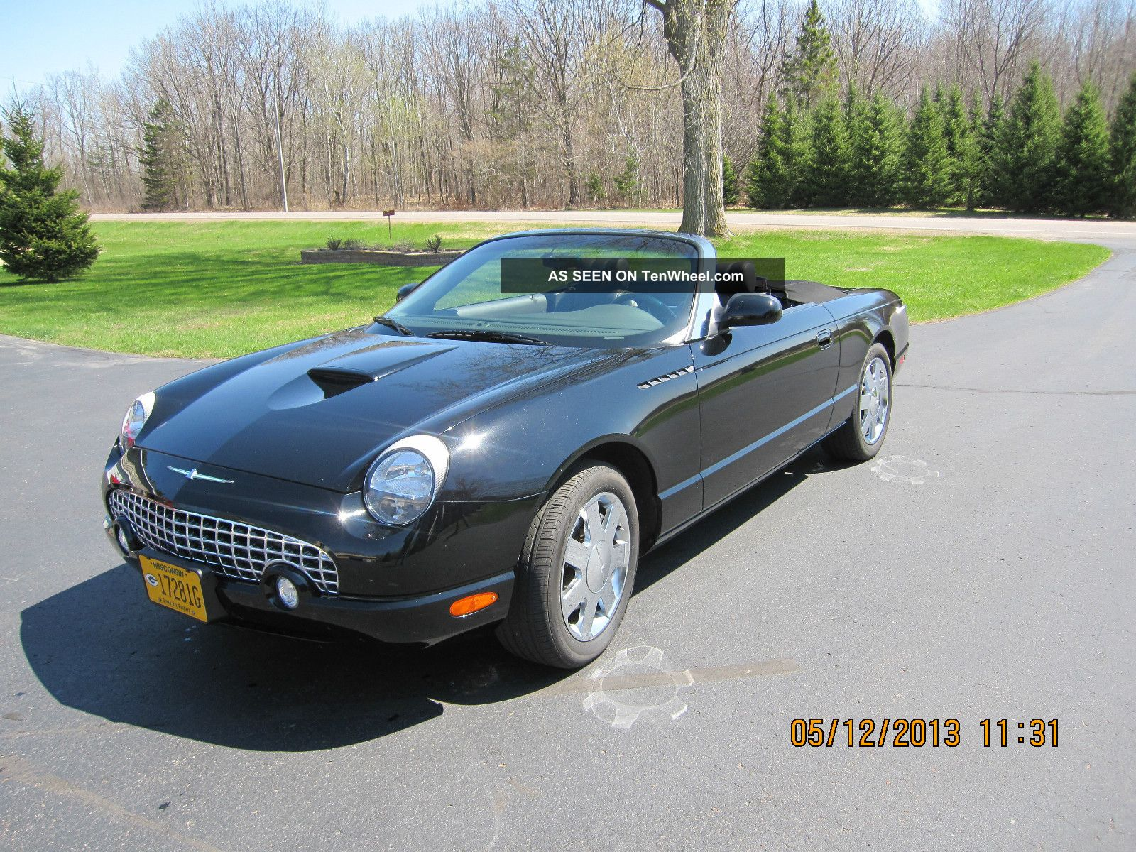 2002 ford thunderbird convertible w hardtop. Cars Review. Best American Auto & Cars Review