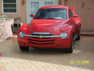 2005 Chevrolet Ssr Base Convertible 2 - Door 6.  0l photo