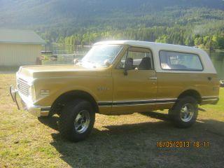 1972 Chevrolet K5 Blazer photo