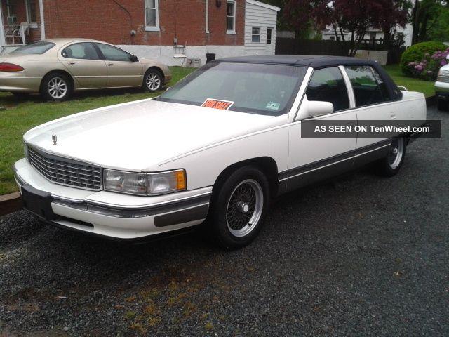 1996 Cadillac Sedan Deville 4 Door 4 6l