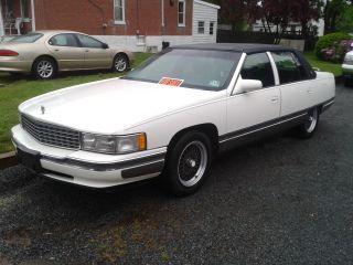 1996 Cadillac Sedan Deville 4 - Door 4.  6l photo