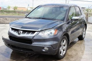 2007 Acura Rdx Awd Tech Pkg Damadge Repairable Rebuilder Title Runs photo