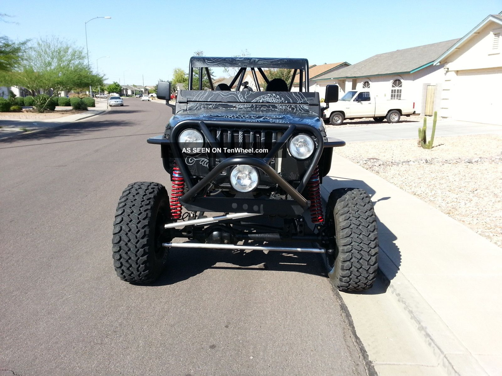 1998 2012 Rock Buggy Jeep Wrangler Lj Custom Sand Desert Dunes Stadium Crawler