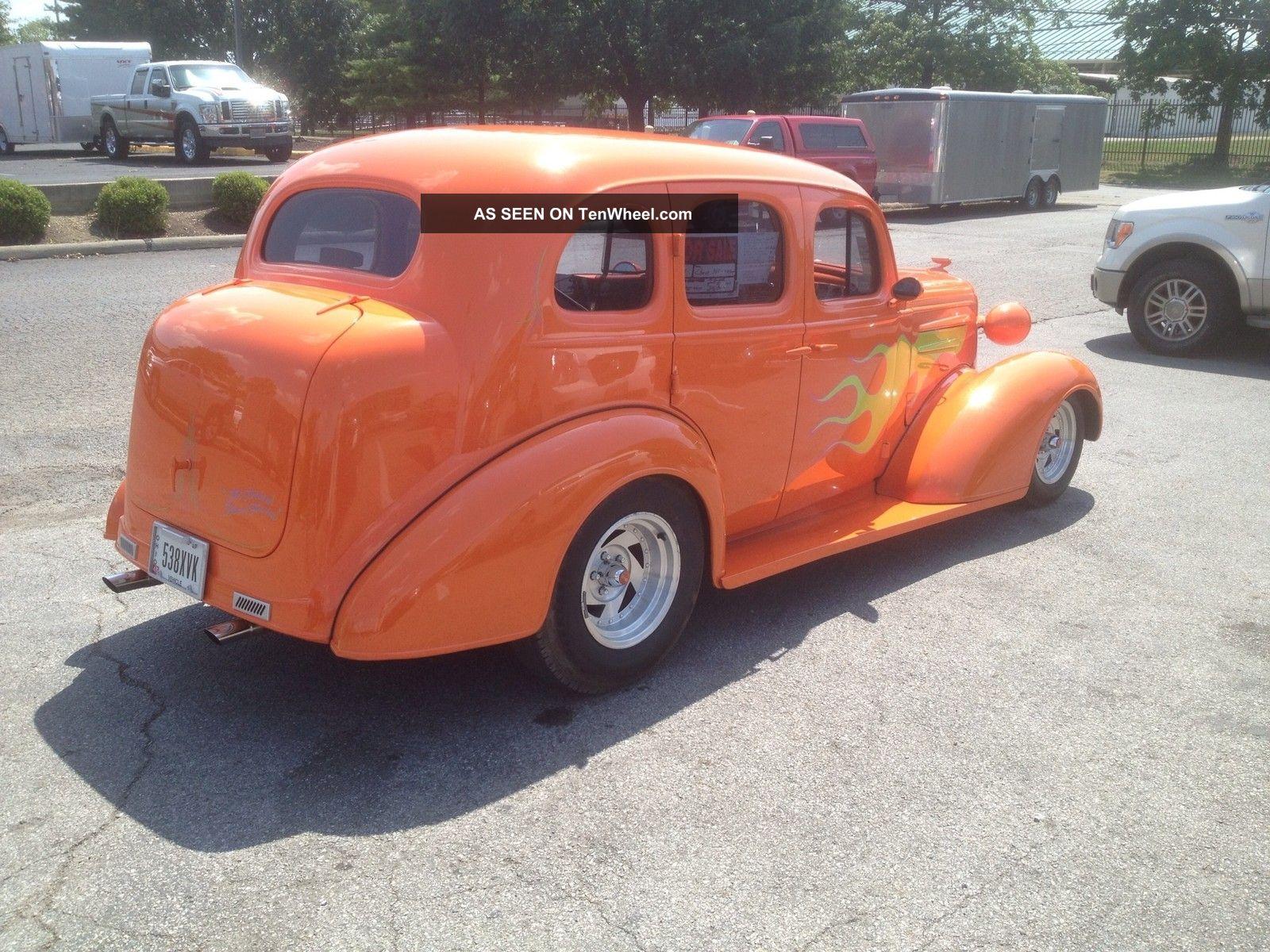 1936 chevrolet 4 door street rod for 1936 chevy 4 door sedan