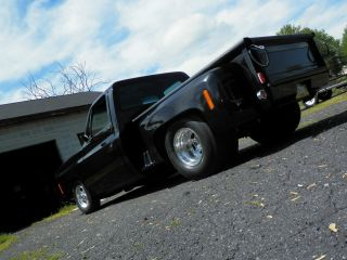 Tubbed Prostreet 1978 Chevy 1500 Step Side Bb Chevy With Tunnel Ram photo