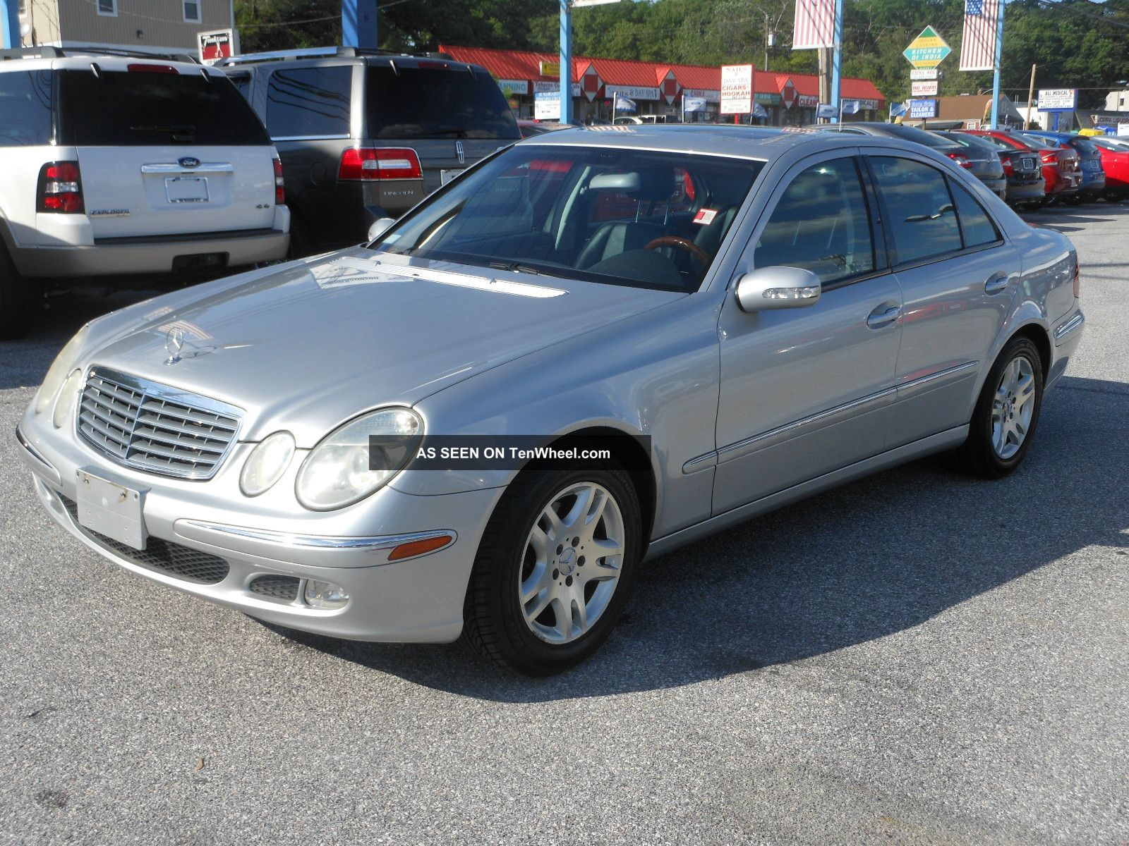 2004 mercedes benz e320 base sedan 4 door 3 2l. Black Bedroom Furniture Sets. Home Design Ideas
