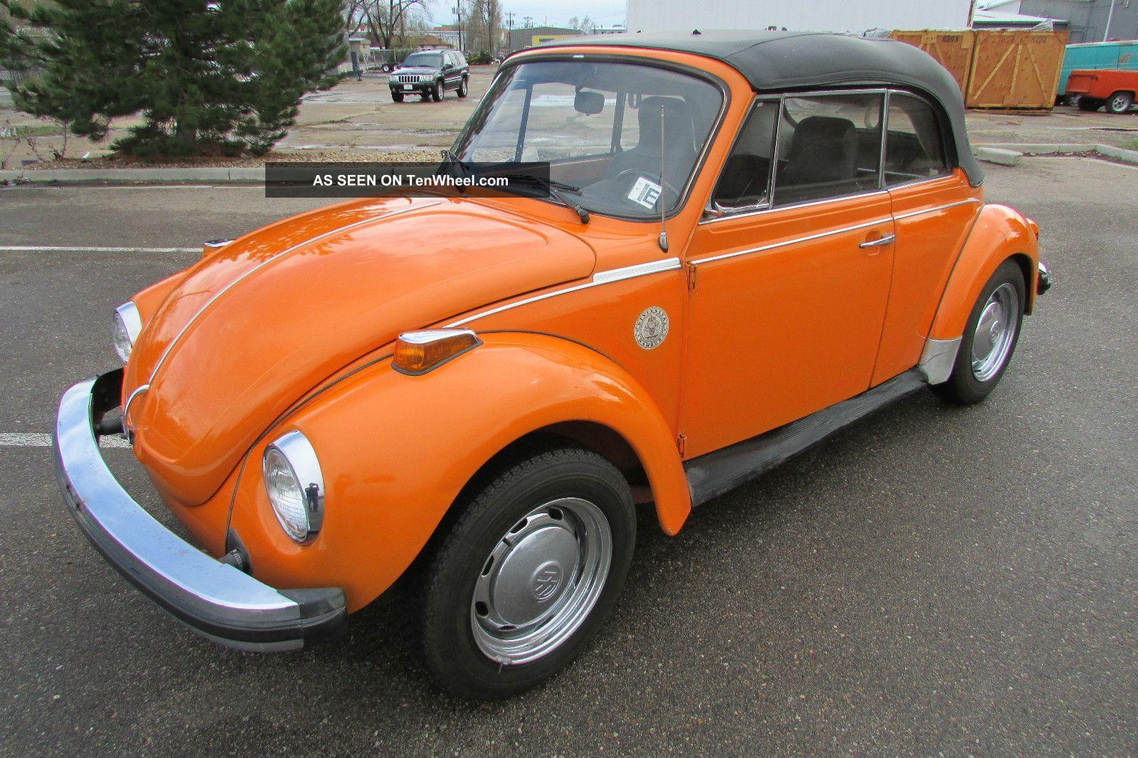 1975 Volkswagen Beetle Base Convertible 2 - Door 1.  6l Beetle - Classic photo
