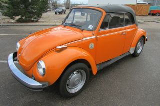 1975 Volkswagen Beetle Base Convertible 2 - Door 1.  6l photo