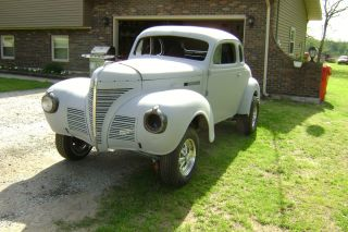 1939 Plymouth Coupe Street Rod Gasser photo