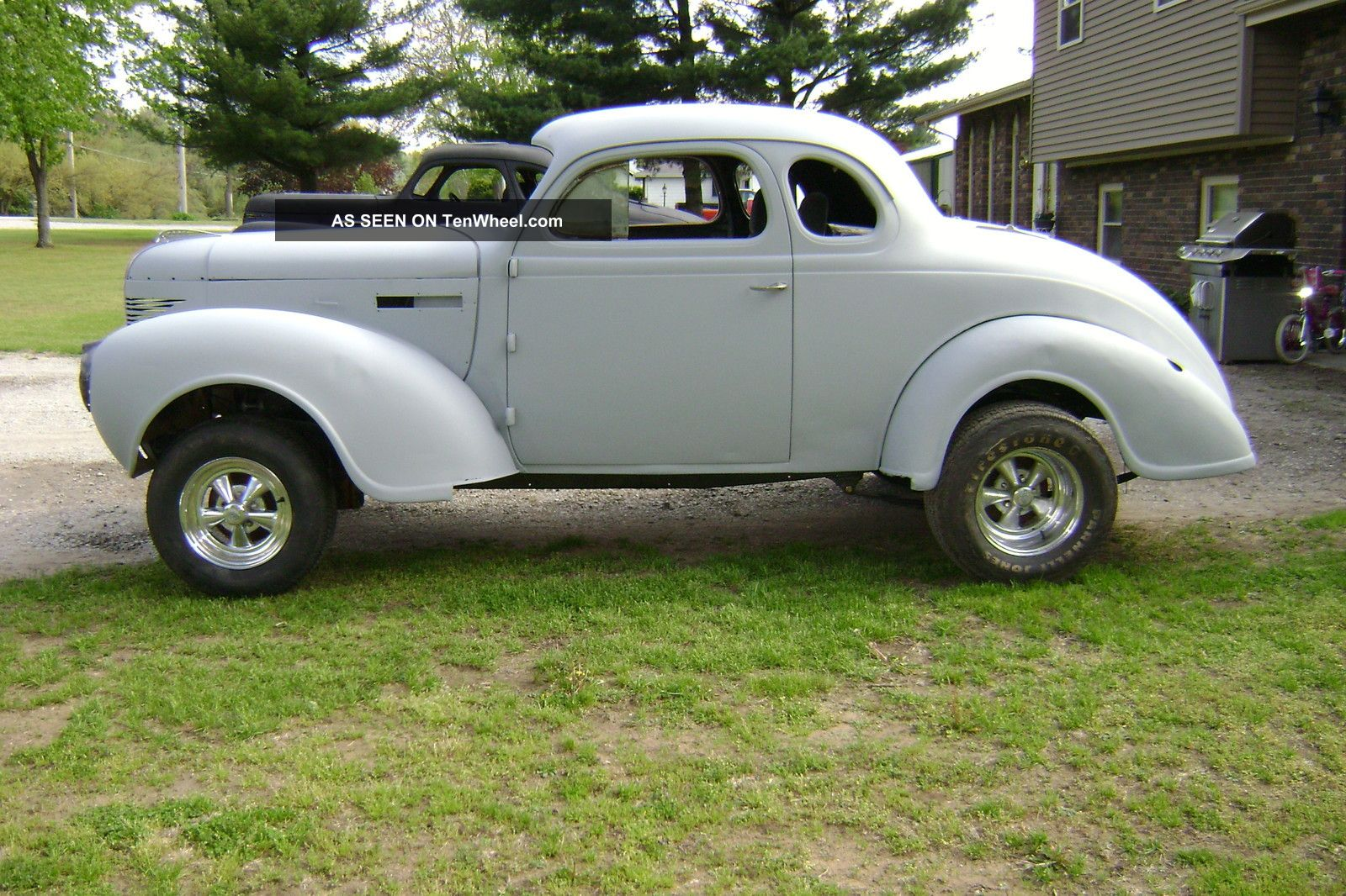 1939 Plymouth Coupe Street Rod Gasser