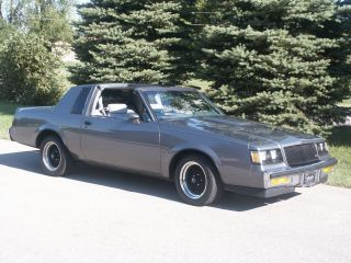 1987 Buick Regal Limited Coupe 2 - Door 3.  8l Turbo Same As Grand National photo