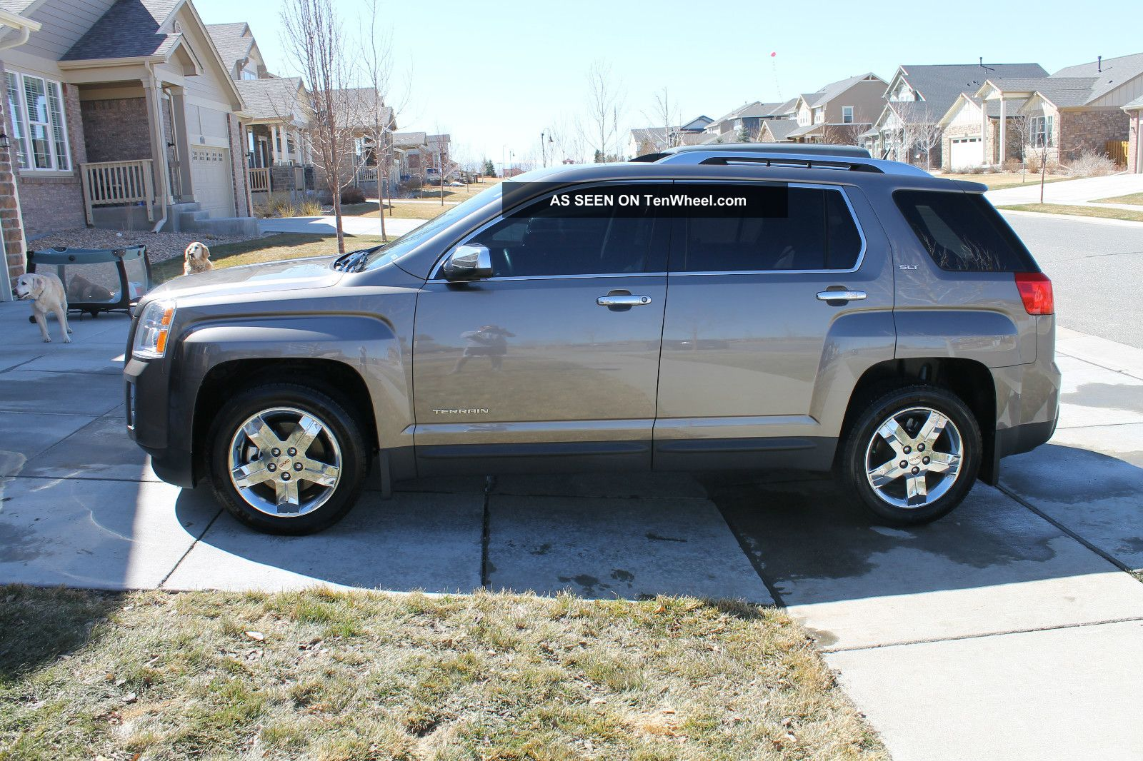 2012 Gmc Terrain Slt 2 Rear Entertainment