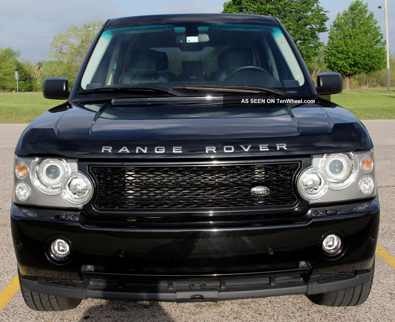 2008 land rover range rover supercharged sport utility 4. Black Bedroom Furniture Sets. Home Design Ideas