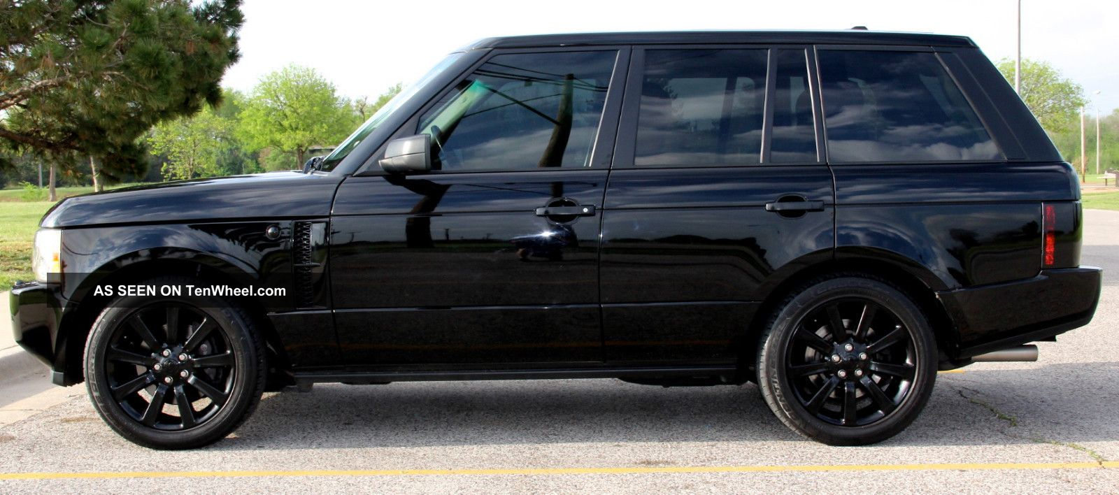 2008 Land Rover Range Rover Supercharged Sport Utility 4 ...
