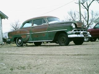 1954 Chevy 210,  2 Door,  Title,  Engine And Transmission photo