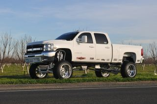 Sema 2008 Chevrolet 2500hd 4x4 Z71 Duramax Custom Lifted Show Truck photo