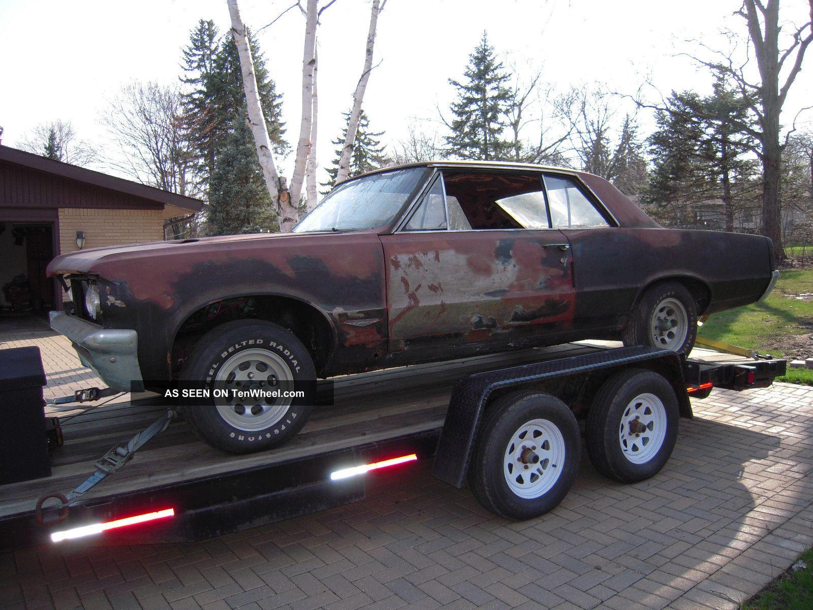 1964 Pontiac Gto - Factory 389 Tri Power,  4 Speed GTO photo