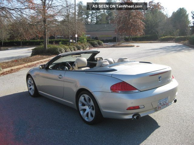 2004 bmw 645ci base convertible 2 door 4 4l. Black Bedroom Furniture Sets. Home Design Ideas