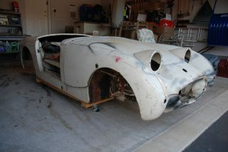 1959 Austin - Healey Bugeye Sprite - Rust California Project Car photo