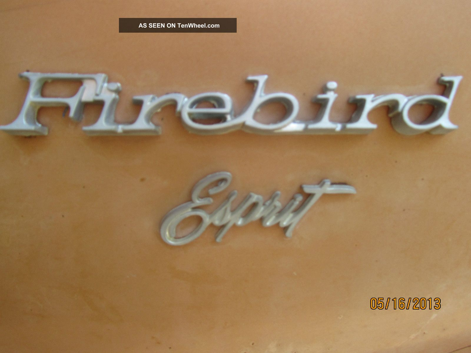 1977 Firebird In Condition Firebird photo