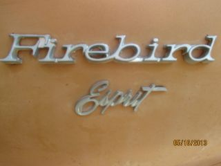 1977 Firebird In Condition photo