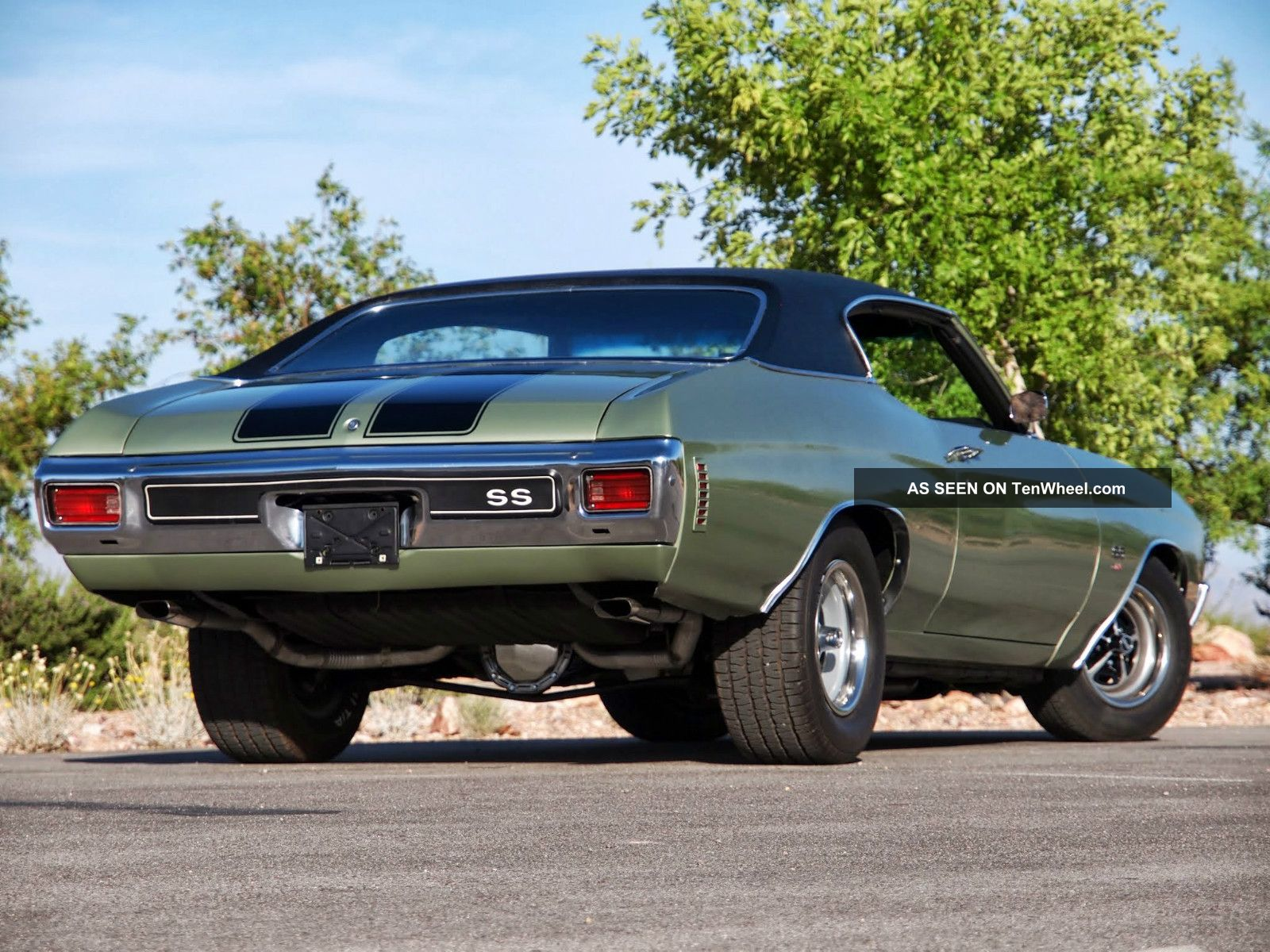 Show Quality Restoration Real 1970 Chevelle Ss 454 Ls5 Ac