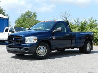 2008 Dodge Ram 3500 6.  7l Cummins Dually 6 Speed Manual Custom Bumpers Long Bed photo